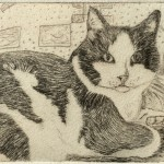 Wimsey (drypoint)